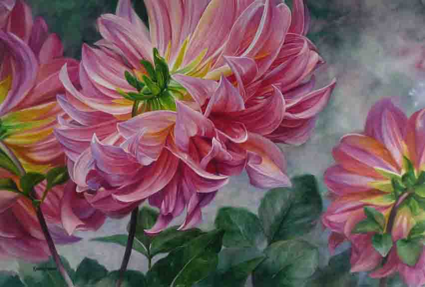 Karen Sioson_Dahlias_19x28in_2017_TN