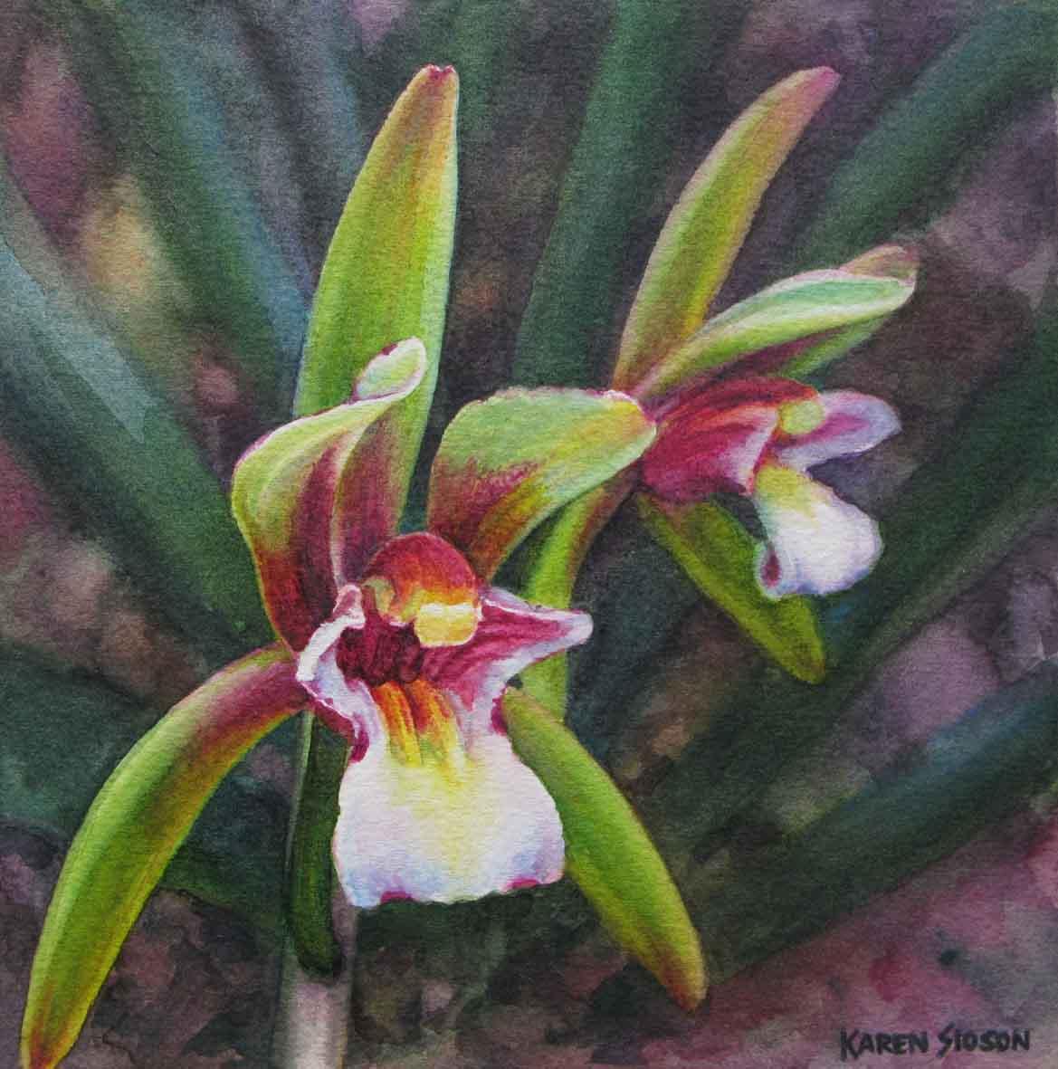 karensioson_green_orchids
