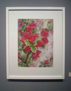 Karen Sioson_Rhapsody in Red_framed