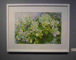 Karen Sioson_White Garden II_framed