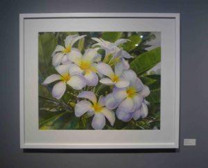 Karen Sioson_White Garden I_framed