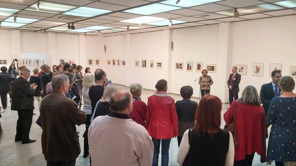 Watercolor Salon II, Thessaloniki Greece, 9 Nov - 14 Dec 2017